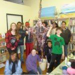 Prayer Tree created by teens and tweens